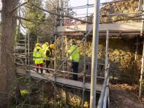 Work in progress, winter 2018 (Image: Historic England)